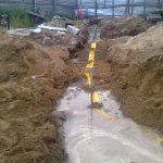 Строительство газопровода к дому 2