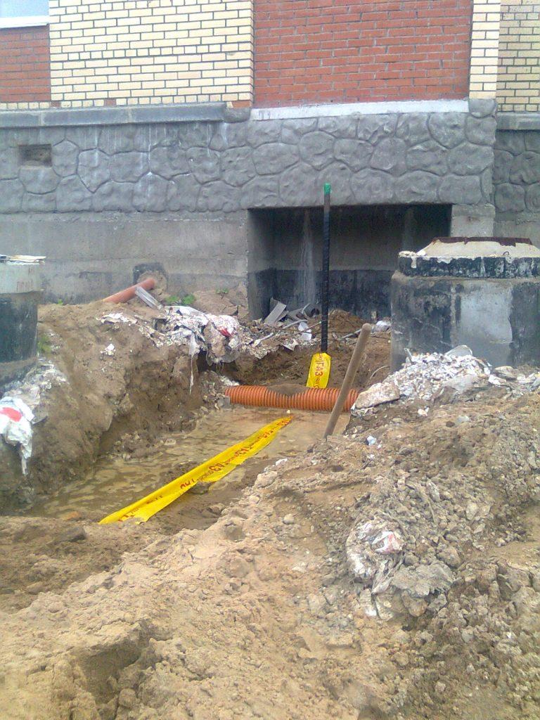 Строительство газопровода к дому 3