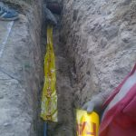 Строительство газопровода к дому 4
