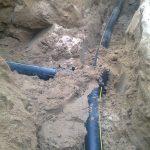 Строительство газопровода к дому 5