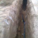 Строительство газопровода к дому 6