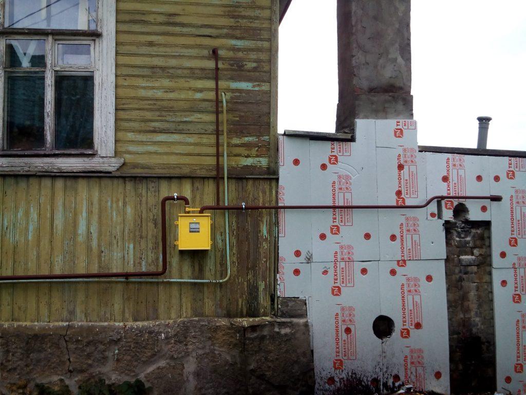 Строительство газопровода к дому