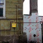 Строительство газопровода к дому в п. Поповке