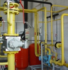 проектирования систем газоснабжения