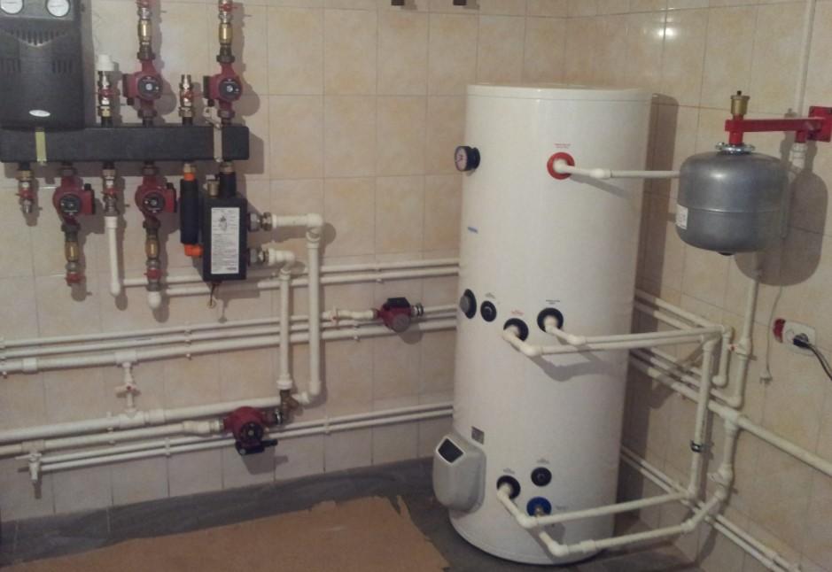 Строительство систем теплоснабжения